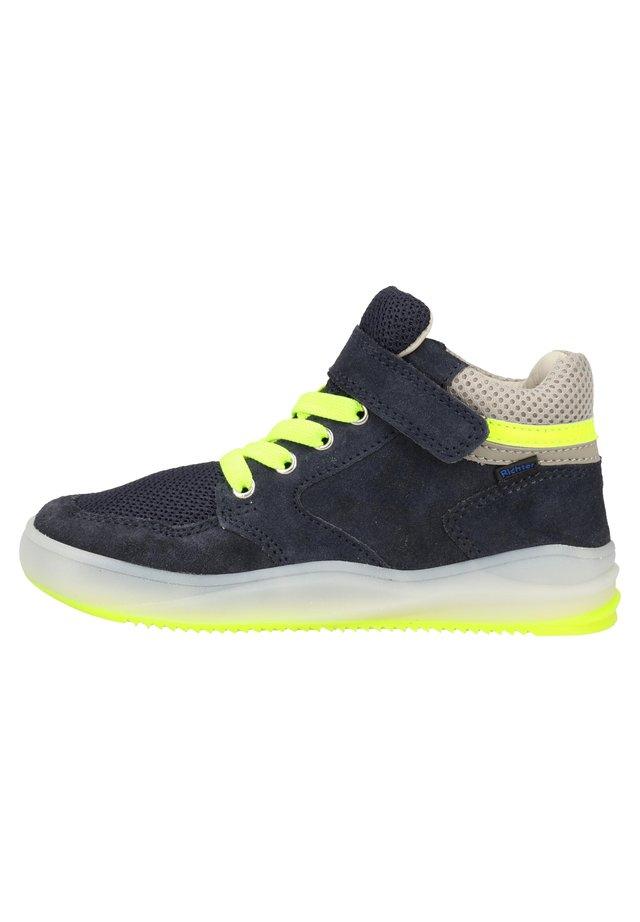 RICHTER SNEAKER - Sneakers - atlantic/ash/neon yellow 7201