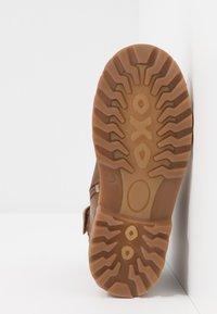 Richter - Lace-up ankle boots - cognac/black - 5