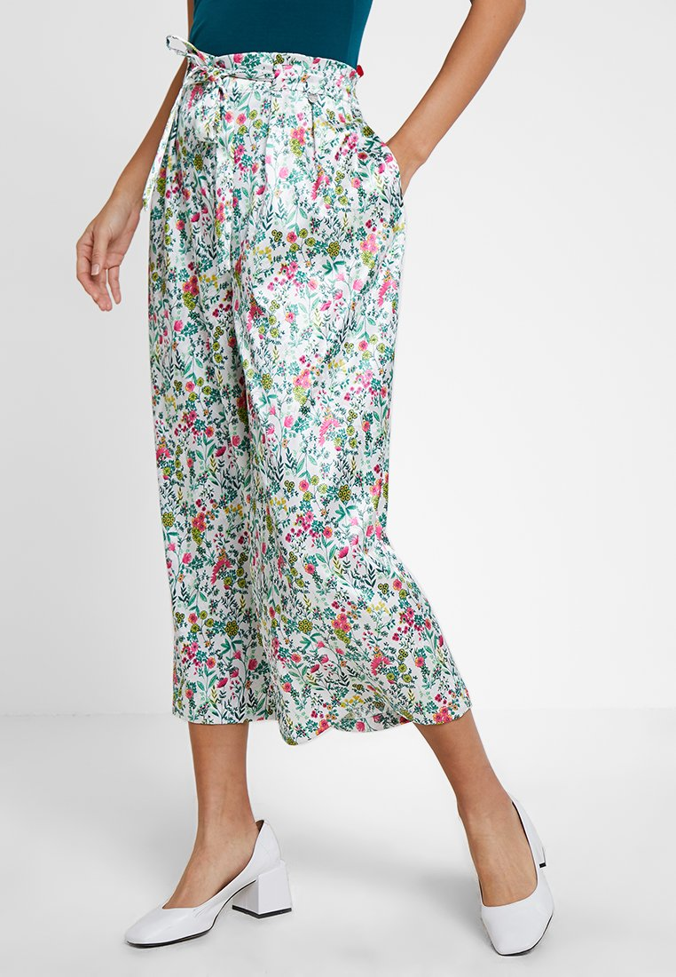 Rich & Royal - PALAZZO PANTS - Stoffhose - multi-coloured