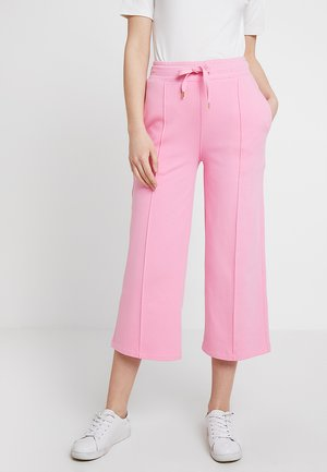 WIDE LEG PANTS - Trousers - rose pink