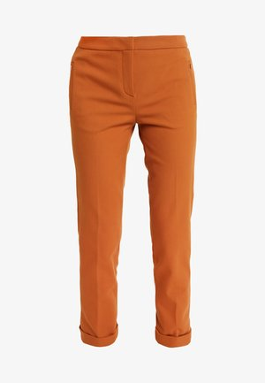PANTS - Trousers - ginger brown