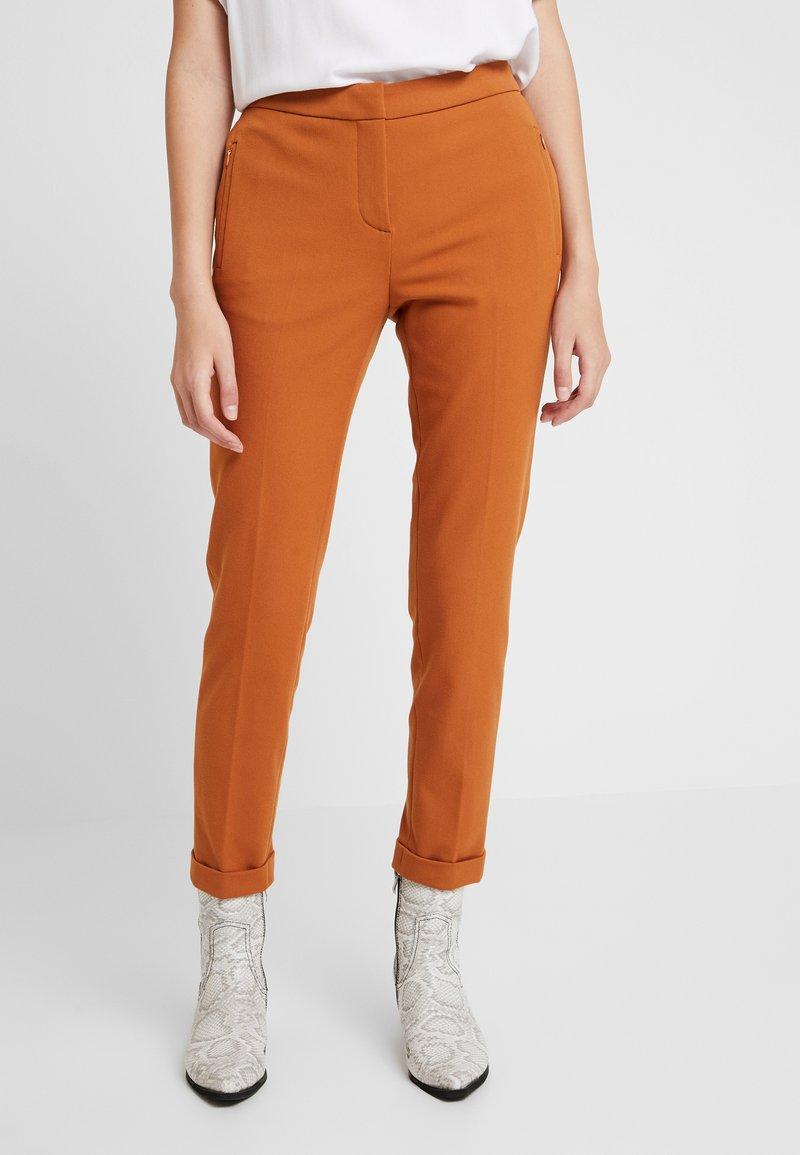Rich & Royal - PANTS - Pantalones - ginger brown