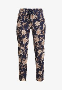 Rich & Royal - PRINTED PANTS - Broek - deep blue - 4