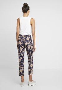 Rich & Royal - PRINTED PANTS - Broek - deep blue - 2