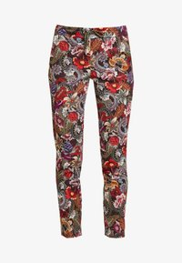 Rich & Royal - PANTS PRINTED - Bukse - cherry red - 4