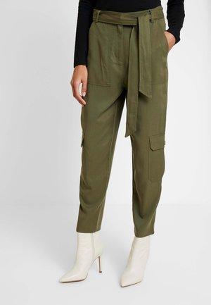 PANT UTILITY - Kalhoty - khaki