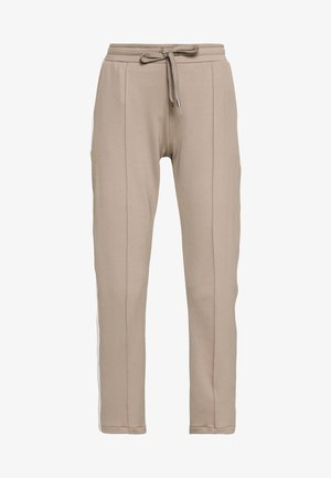 PANTS - Tracksuit bottoms - taupe