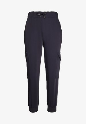 PANTS WITH CARGO POCKETS - Pantalon classique - deep blue
