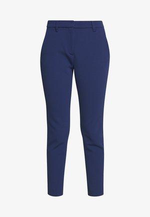 PANTS WITH TURNUP - Bukse - deep indigo