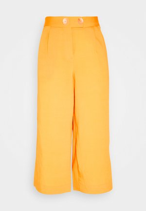 CULOTTE PANTS - Bukse - spring gold