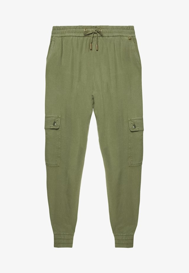PANTS - Trousers - safari green