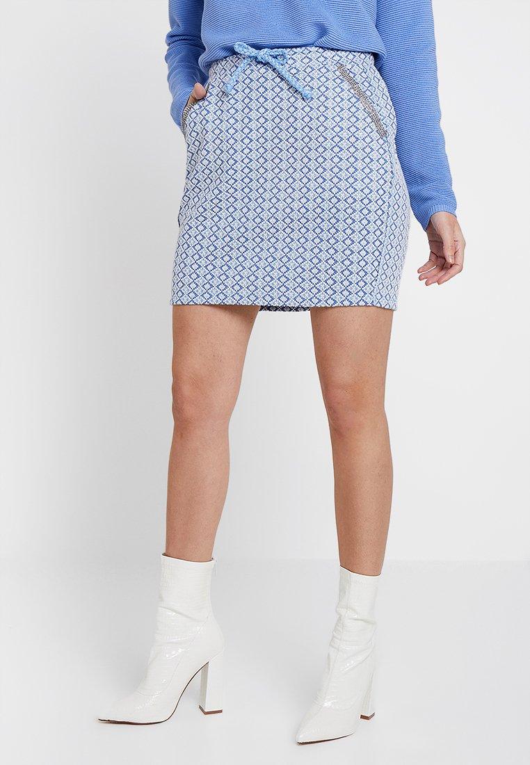 Rich & Royal - SKIRT - Mini skirt - powder blue