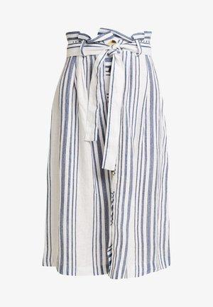 SKIRT - Spódnica trapezowa - pearl white