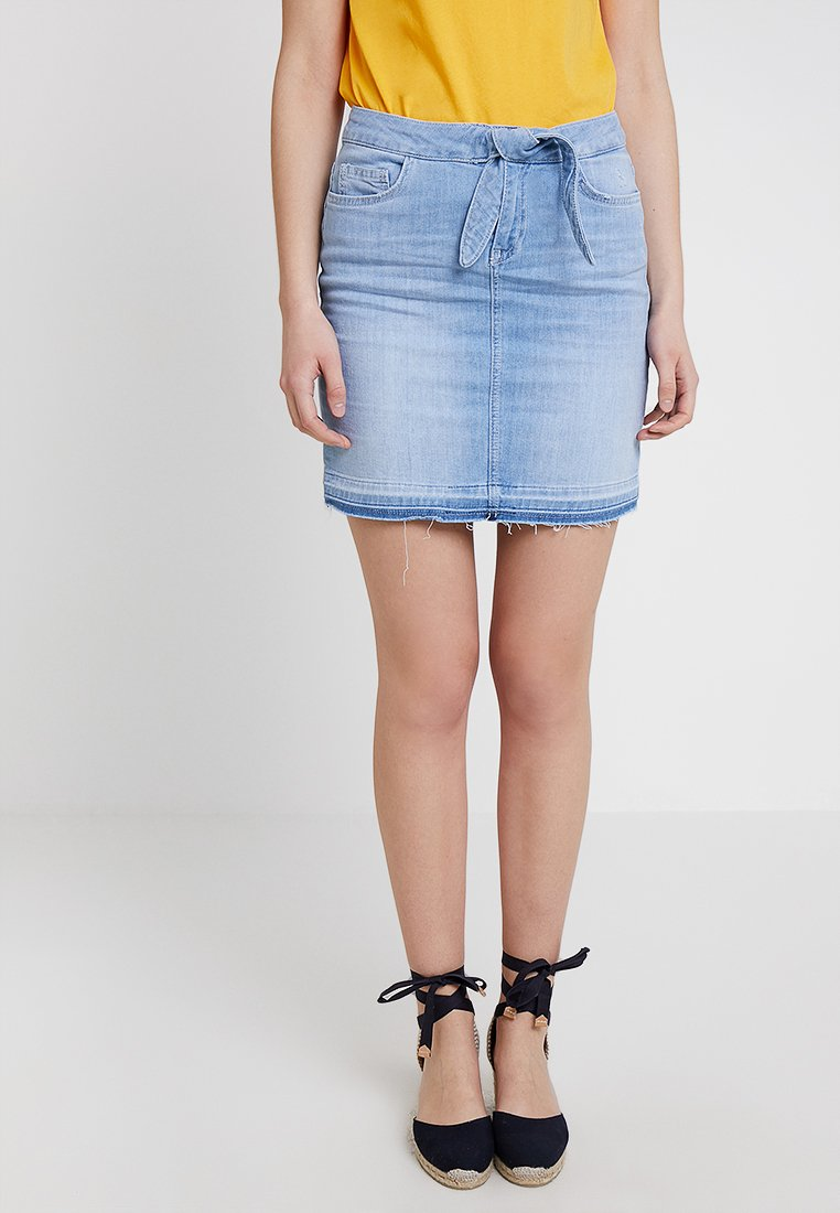 Rich & Royal - SKIRT - Jeansrock - blue