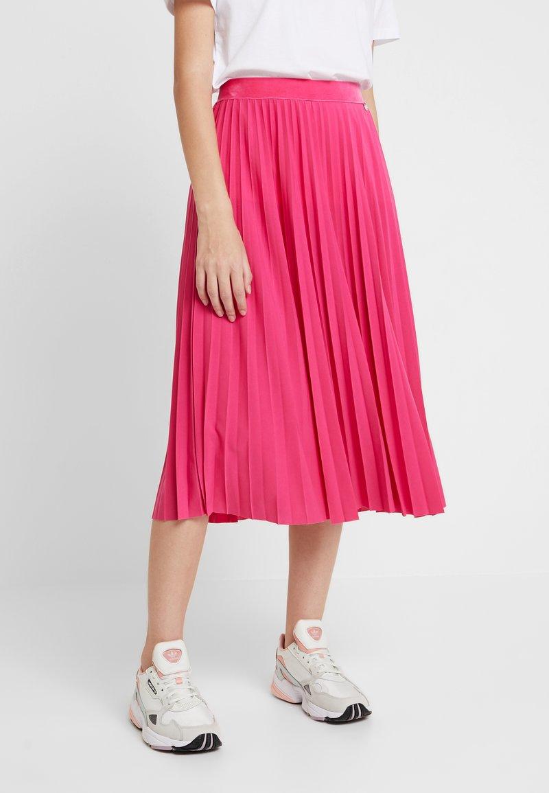 Rich & Royal - PLISSEE SKIRT - A-Linien-Rock - raspberry pink