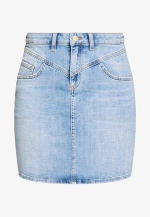 SKIRT VINTAGE LOOK - Jeansskjørt - denim blue
