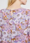 Rich & Royal - PRINTED DRESS WITH RUFFLE HEM - Day dress - lavebder purple