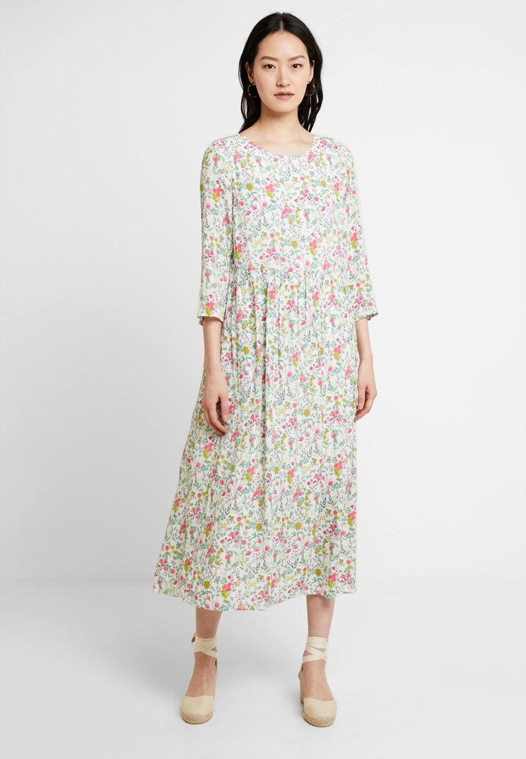 Rich & Royal - PRINTED DRESS - Maxikleid - white
