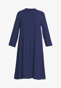 Rich & Royal - DRESS WITH PIN TUCKS AND PLISSEE - Kjole - deep blue - 4