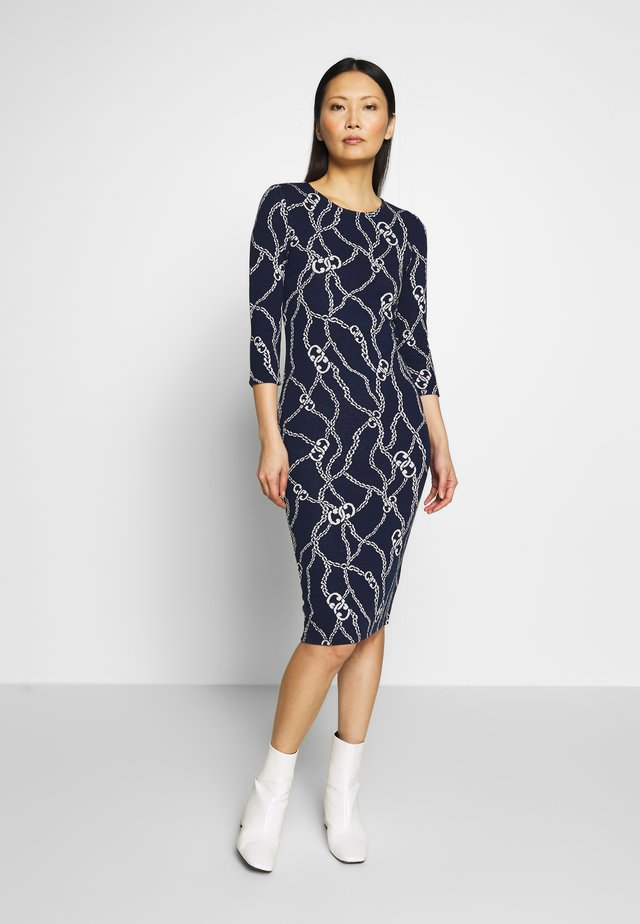 TUBEDRESS - Shift dress - deep indigo