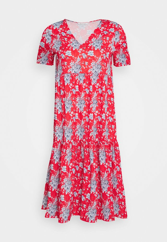 DRESS PRINTED - Denní šaty - summer red
