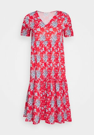 DRESS PRINTED - Day dress - summer red