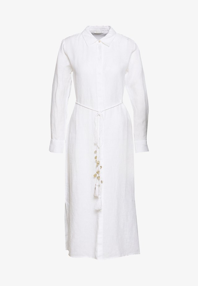 DRESS - Shirt dress - white