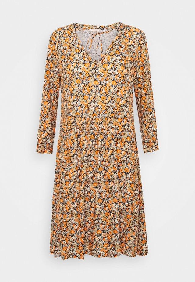 DRESS WITH SHINY DETAILS - Robe d'été - deep blue