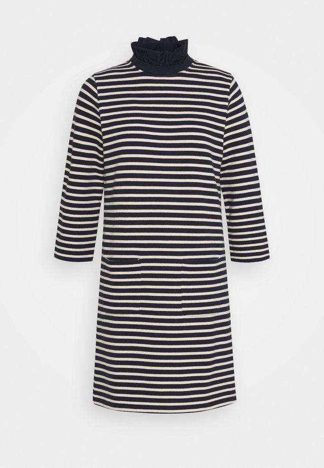 DRESS STRIPED - Vestido informal - deep blue