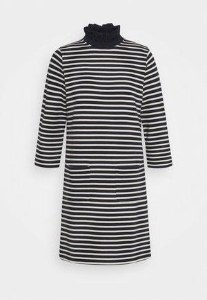 DRESS STRIPED - Vapaa-ajan mekko - deep blue