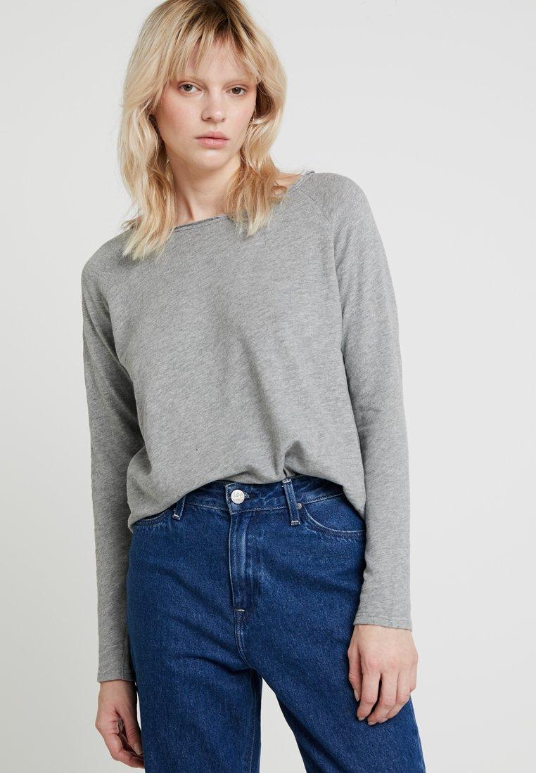 Rich & Royal - LONGSLEEVE - Long sleeved top - grey melange