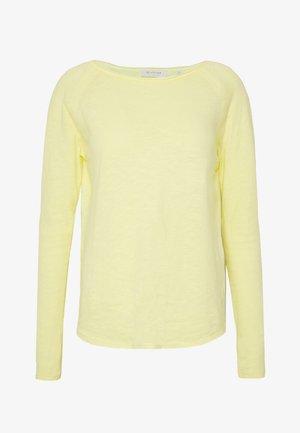 LONGSLEEVE - Long sleeved top - light lemon