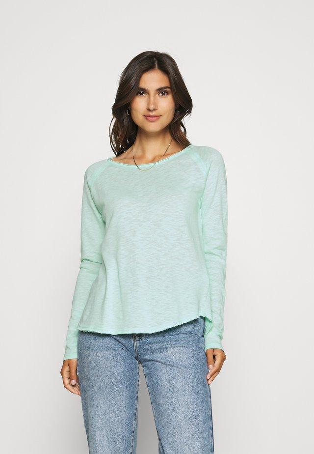 HEAVY LONGSLEEVE - Long sleeved top - jade mint