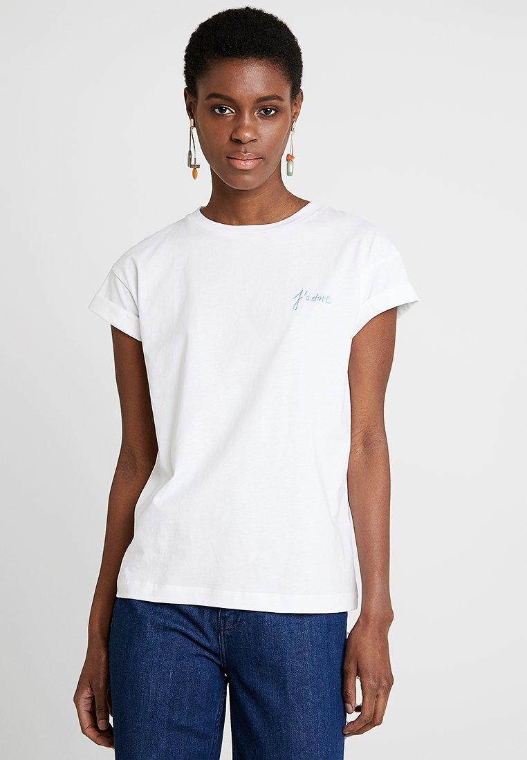 Rich & Royal - BOYFRIEND - T-Shirt print - white