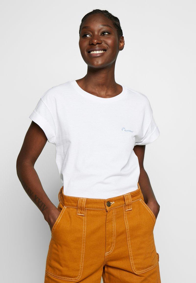 Rich & Royal - BOYFRIEND - T-shirts - white