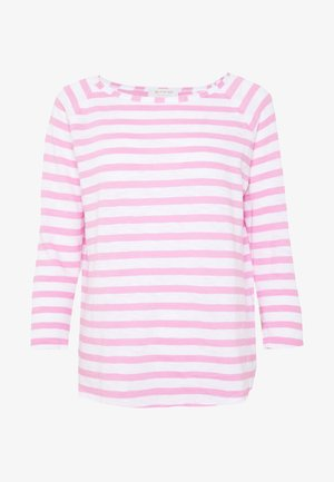 HEAVY LONGSLEEVE STRIPED - Topper langermet - pink