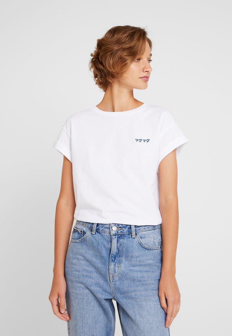 Rich & Royal - BOYFRIEND - T-Shirt print - off-white