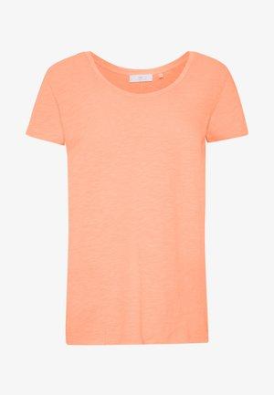 Basic T-shirt - neon orange