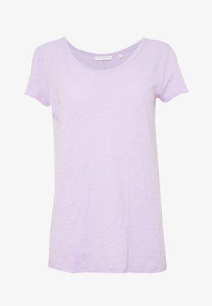 T-shirt - bas - pastel lilac