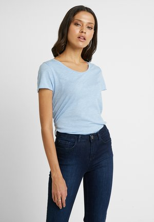 T-shirt basic - blue bell