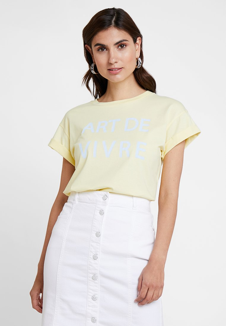 Rich & Royal - T-Shirt print - light vanilla
