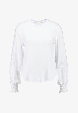 LONGSLEEVE - Bluzka - white