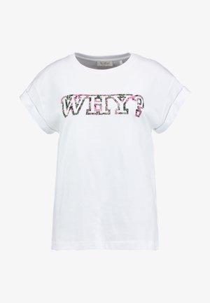 T-shirts med print - white/multi