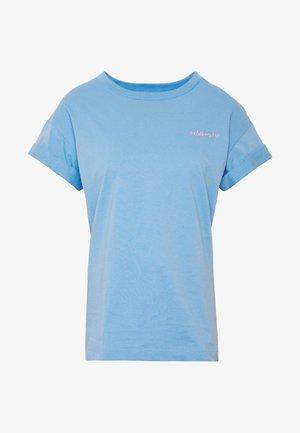 BOYFRIEND COLOURED - T-shirts - spring blue