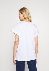 Rich & Royal - L'AMOUR - T-shirts med print - white - 2
