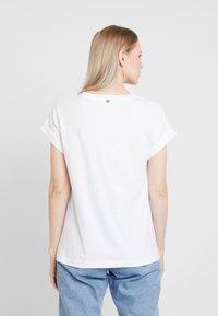 Rich & Royal - Print T-shirt - white/black - 2