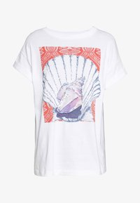 Rich & Royal - T-shirts med print - white - 0