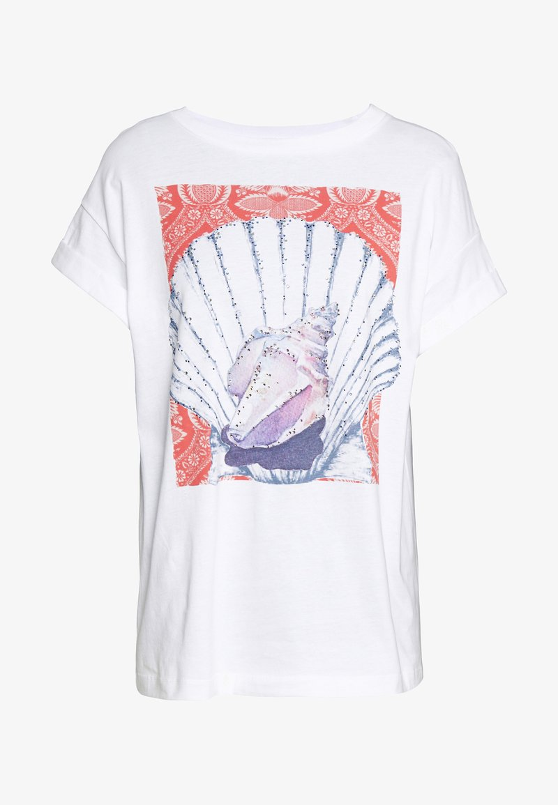 Rich & Royal - T-shirts med print - white