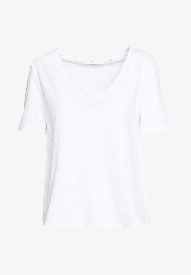 HEAVY - T-shirt basic - white