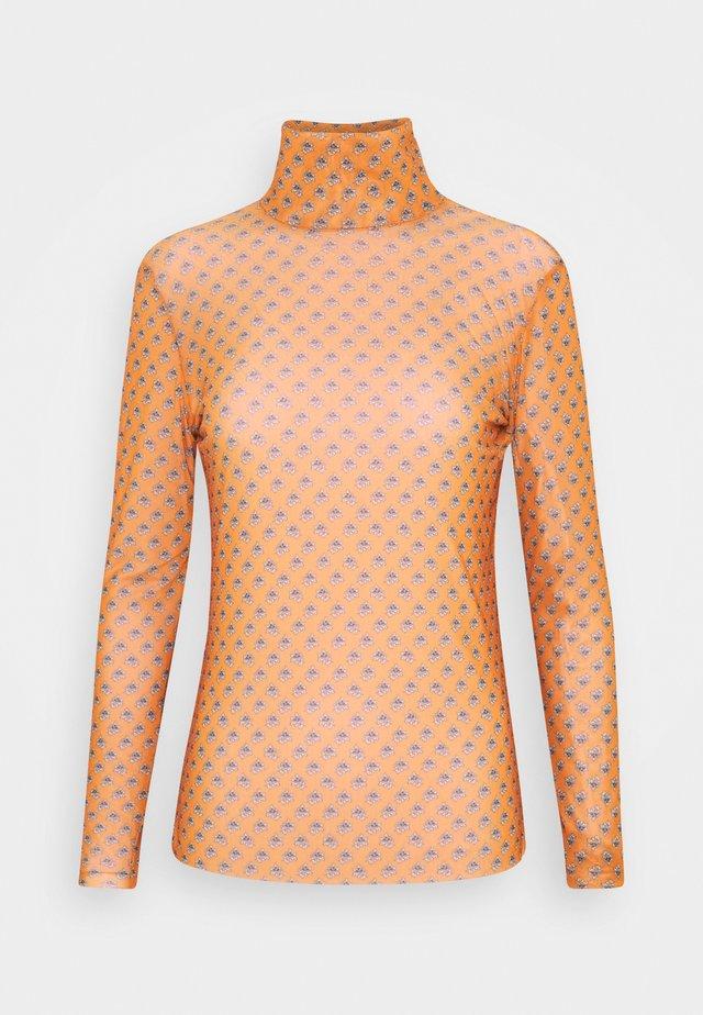 LONGSLEEVE - Long sleeved top - sunset orange